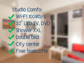 Elegance and Comfort | City Center | Wi-Fi 100 Mbs