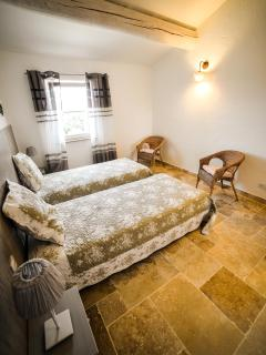 La Restanque - Chambre 2 lits