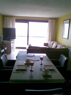 Vakantieappartement op de Zeedijk van Zeebrugge