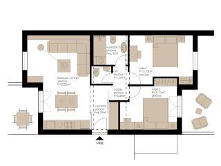 Two bedroom apartment Carol 2, Cavtat