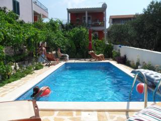 Trogir area,luxury 4****  Red apart-Vila with pool