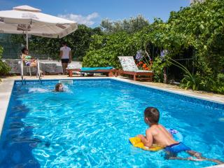 Trogir area,luxury 4**** apart.Brown pool villa