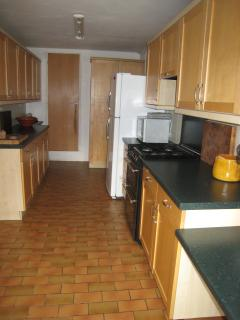 Extremely well equipped and modern kitchen