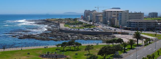 Sea Point Promenade - great place to stroll or jog