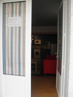 Entrada apartamento 2 plazas
