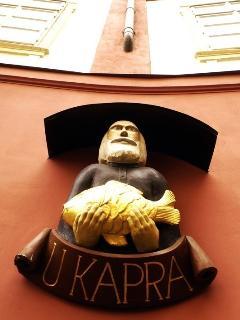 U Kapra building - house sign