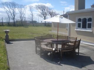 Rear View. Garden & Patio Area