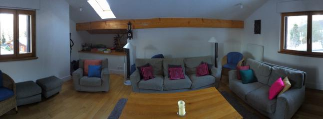 Chalet Ruby - Lounge Large lounge with flat screen and wifi