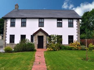 Dyffryn House, spacious home sleeps 12 with hot tub and games room -pet friendly