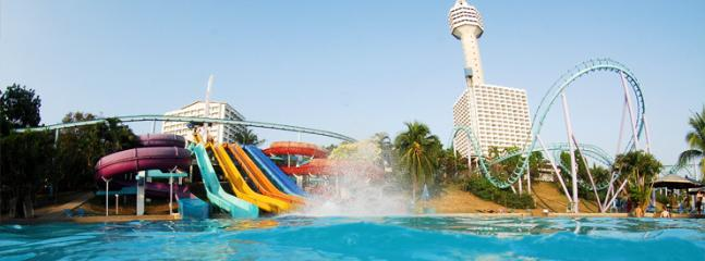 Pattaya Park Waterpark. Fun and affordable for all the family