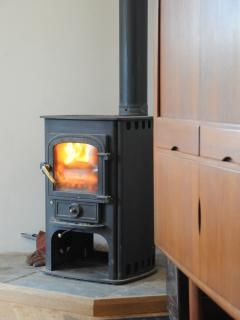 Wood burner (we supply logs)