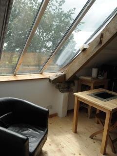 Window in Loft bedroom