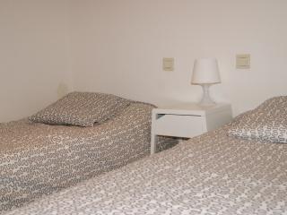 Cabina con dos camas