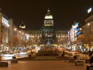 Wenceslas Square and the Old Town in 5 minutes, Praga