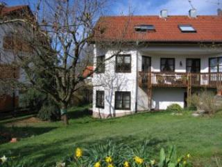 Vacation Apartment in Mörlenbach - 807 sqft, terrace, central heating, towels, Moerlenbach