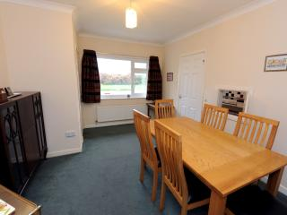 Large dining room with access to the kitchen