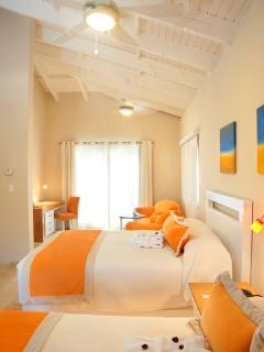 Beach Suite, double beds