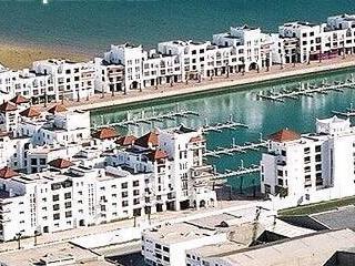 Areal weergaven van Marina Agadir
