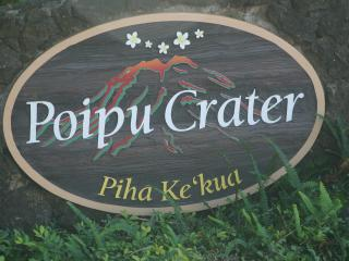 Entrance Poipu Crater