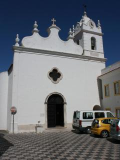 The church of Sao Martinho do Porto