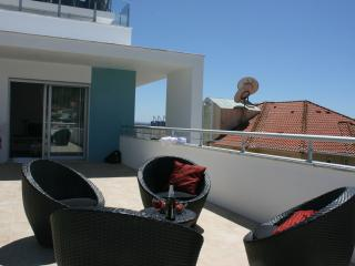 Our private terrace with barbeque