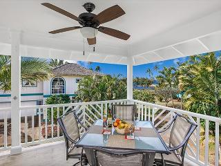 Ocean views, steps to Poipu's best beaches, A/C in living area and bedrooms!