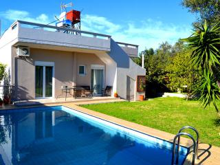 4 Bedroom Family friendly villa, with private pool, Chania Prefecture