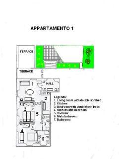 House plan (half mansion)