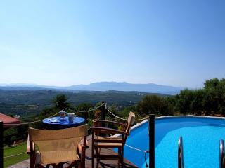 Villa with private pool and amazing sea view, Chania Prefecture