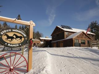 Stowe Mountain Ranch,10 bedrooms, sauna/hot tub