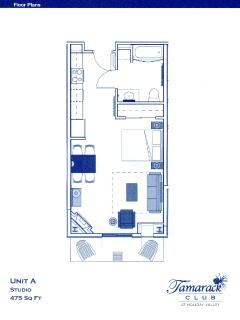 Lay Out of Unit 318/325