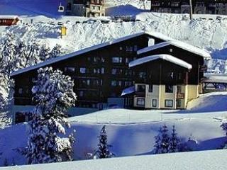 Ski in ski out 1 bedroom apartment in Belle Plagne - Wifi included