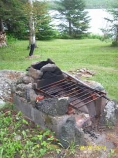 Fireplace w/grille