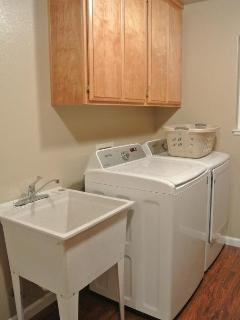 Full size washer and dryer are available for use!