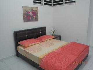Master Bedroom queen bed comforter set1
