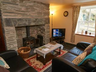 Living Room with underfloor heating and log burner