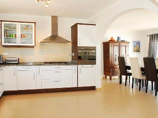 Fully fitted and equipped modern kitchen
