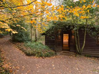 Pinetum Log Cabin, Gloucester