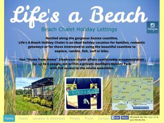 Life's a Beach Holiday Chalet, Earnley