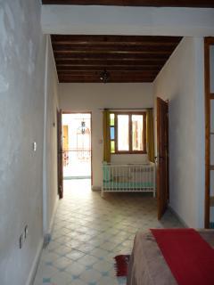 Chambre N° 4 avec espace bébé