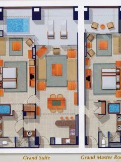 Floor Plan - Grand Mayan Puerto Peñasco
