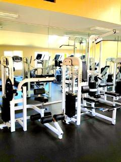 Gym is included in your stay.