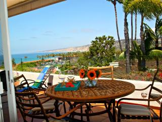 Pacific View: Amazing ocean views.  Walk to beach, shops and restaurants.