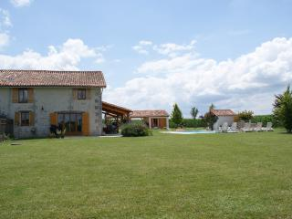 Holiday home in St. Séverin with pool, golf nearby