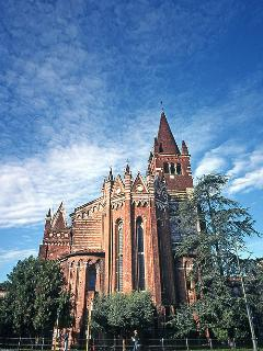 San Fermo church nearby