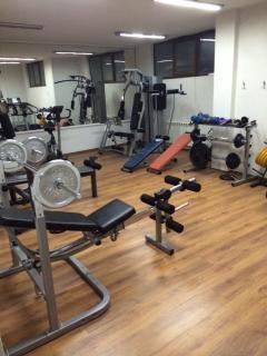 Basement Gym Area