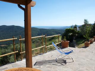 LE GUAZZE BONE  spectacular seaview on Tuscany coast