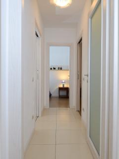 corridor with forniture