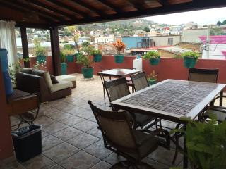 Enjoy views of Santo Domingo from our rooftop terrace