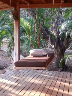 the hammock of casa de los mangos